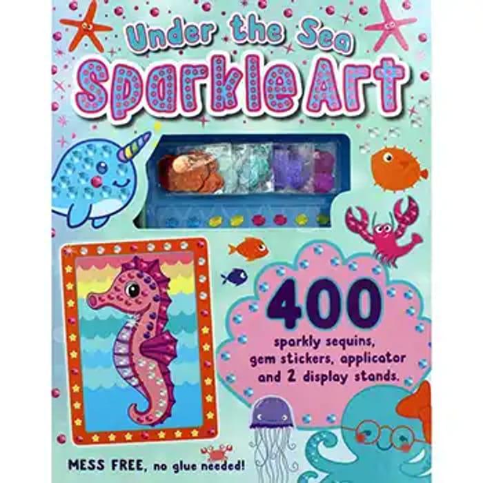 Under the Sea Sparkle Art
