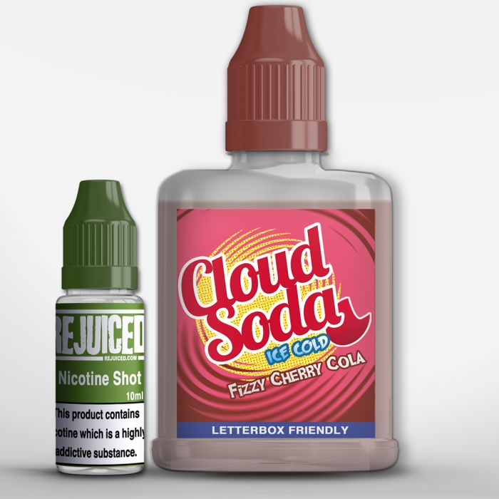 Cloud Soda - Fizzy Cherry Cola - 60ml Eliquid!