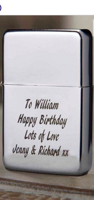Personalised Petrol Lighter - Only £4.99
