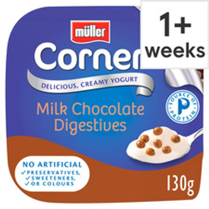 Muller Corners, Lights and Rices 12 for £3