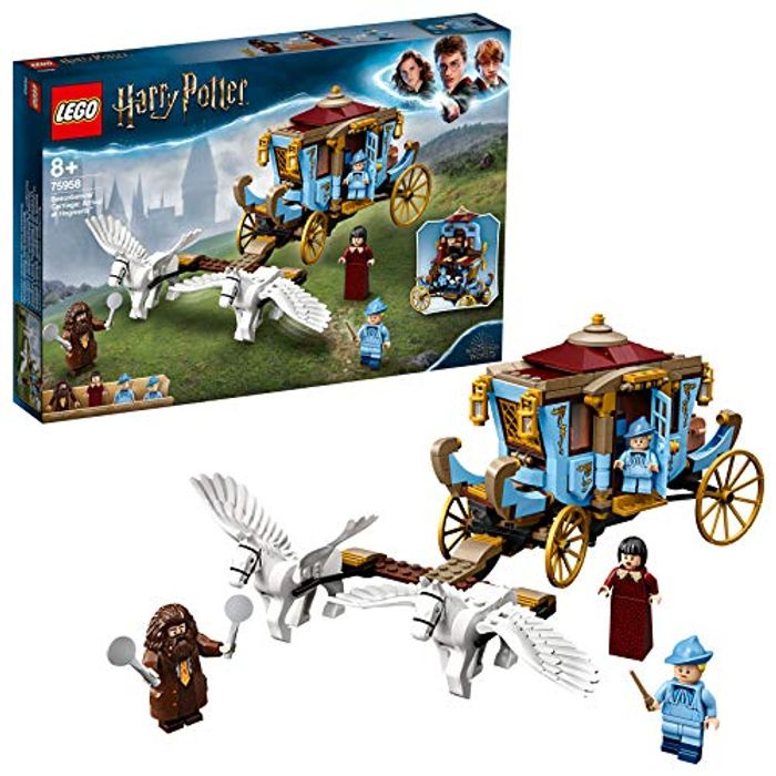 LEGO Harry Potter Beauxbatons Carriage: Arrival at Hogwarts (75958)