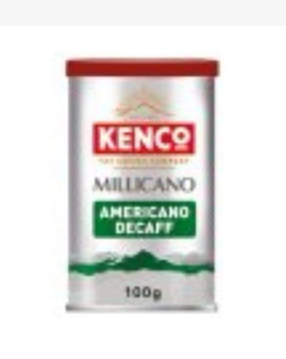 Kenco Millicano Americano Decaff Instant Coffee 100g