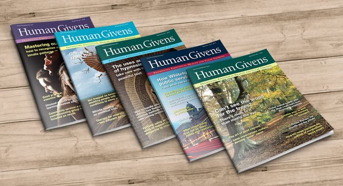 Human Givens Journal Special Offer