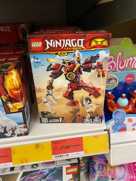 Ninjago - The Samurai Mech - Lego - Half Price