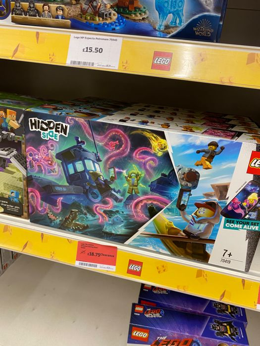 The Hidden Wrecked Shrimp Boat - Lego