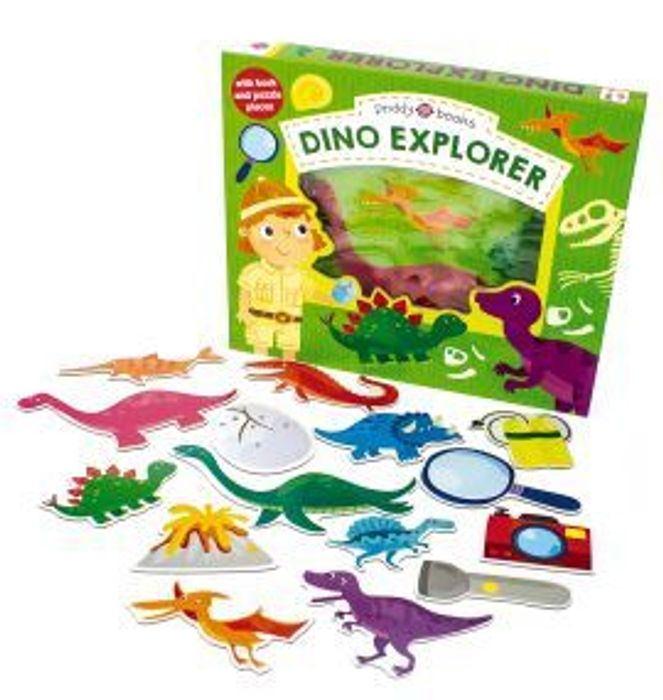 Dino Explorer Puzzle Game - Better Than 1/2 Price