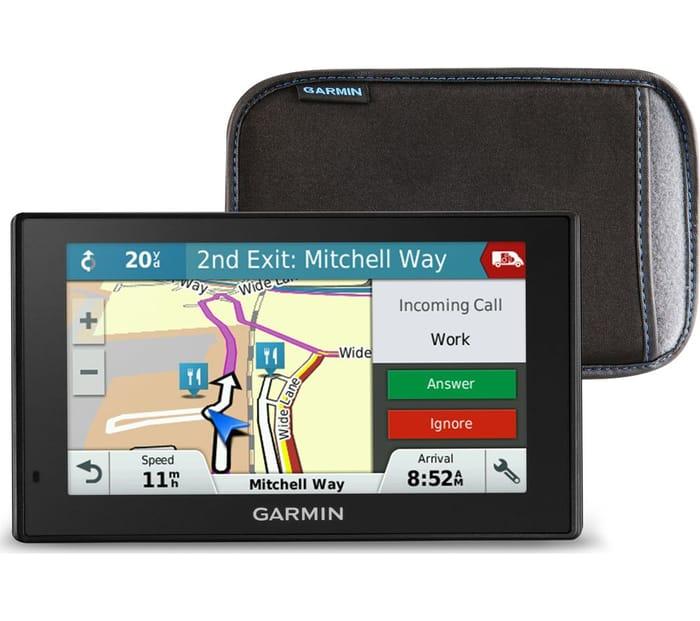 "*SAVE over £59* GARMIN DriveSmart 51 LMT-S 5"" Sat Nav & Case - UK & ROI Maps"
