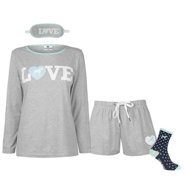 JOE BOXER Boxer 4 Piece Boxed Pyjama Set Ladies