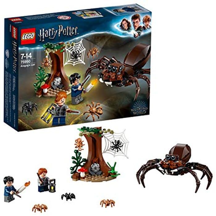 Harry Potter Lego Aragogs Lair