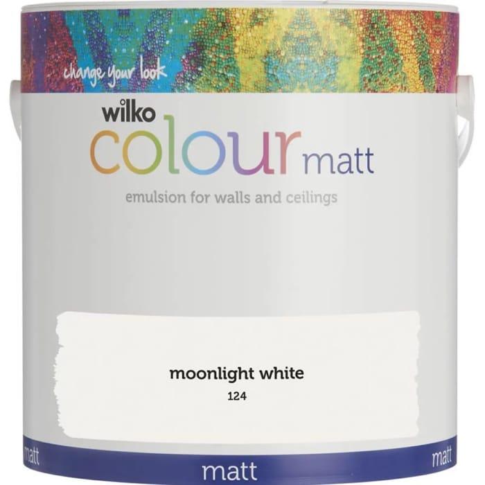 Wilko Moonlight Paint 5L Varioys Colours 2 for £30.00