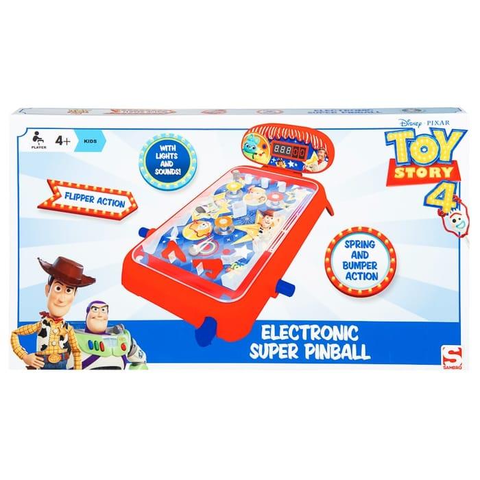 Toy Story Electronic Pinball Machine