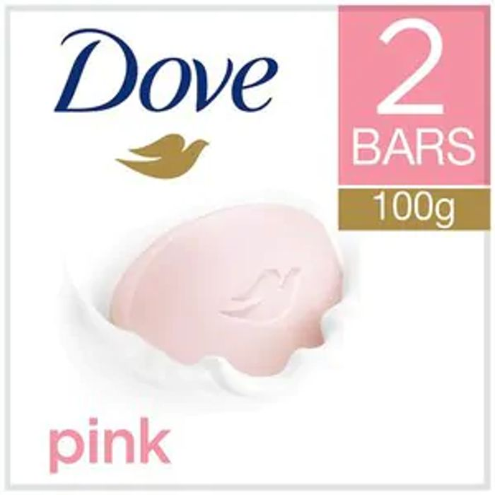 Best Price! Dove Pink Beauty Cream Bar 2x100g at Superdrug