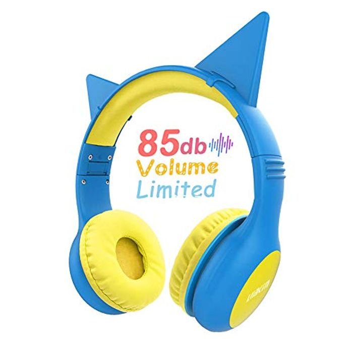 Kid-Safe Volume Limiting Wired Headphones - Only £5.94 with Code!