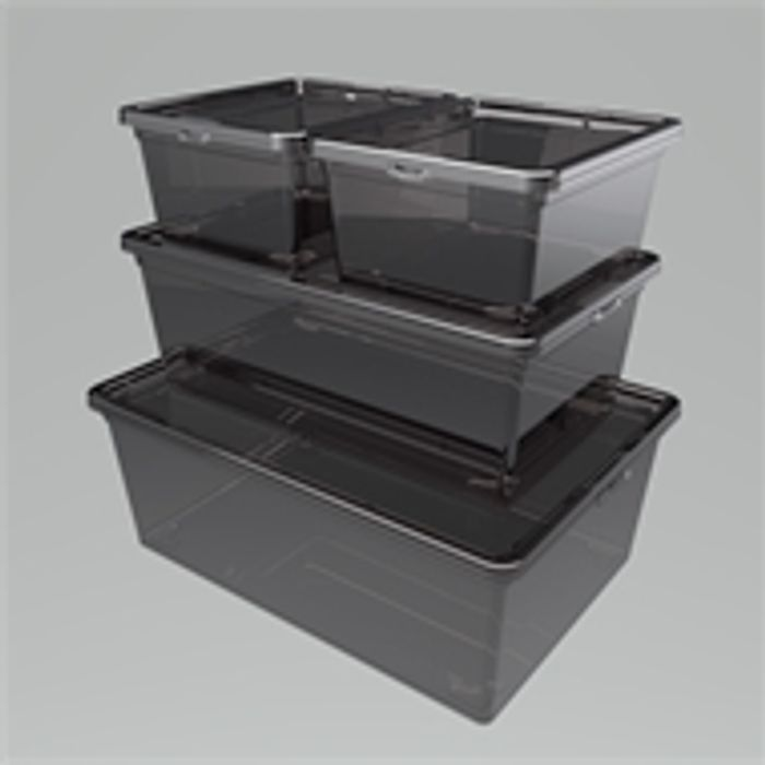 Pack of 4 Storage Boxes at Homebase HALF PRICE