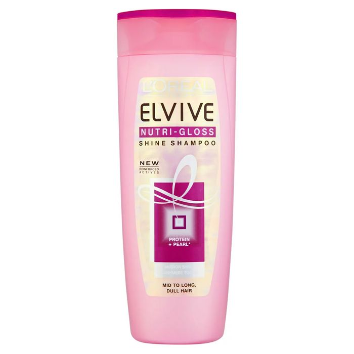 LOreal Paris Elvive Nutri Gloss Shine Shampoo for Dull Hair 400ml