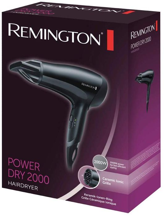 Best Ever Price! Remington D3010 Power Dry Lightweight Hair Dryer, 2000 W