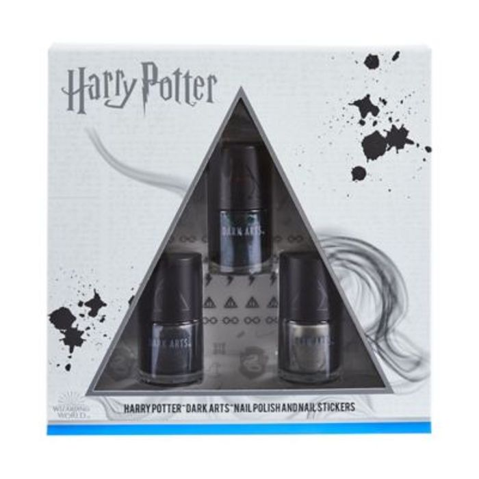Harry Harry Potter Deathly Hallows Nail Set & Stickers