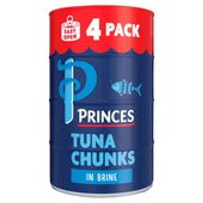 Princes Tuna Chunks in Brine - Save £2