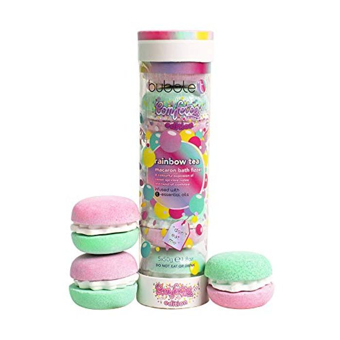 Best Price! Bubble T Cosmetics Rainbow Tea Macaron Bath Bomb Stack