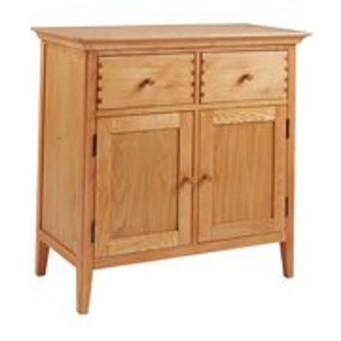Cheap Argos Home Pembridge 2 Door Solid Wood Sideboard -Oak Veneer Only £166.49!