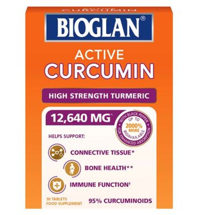 Bioglan Active Curcumin Tablets - 30 Tablets