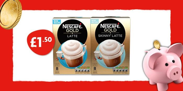 Nescafe Gold Packs for £1.50