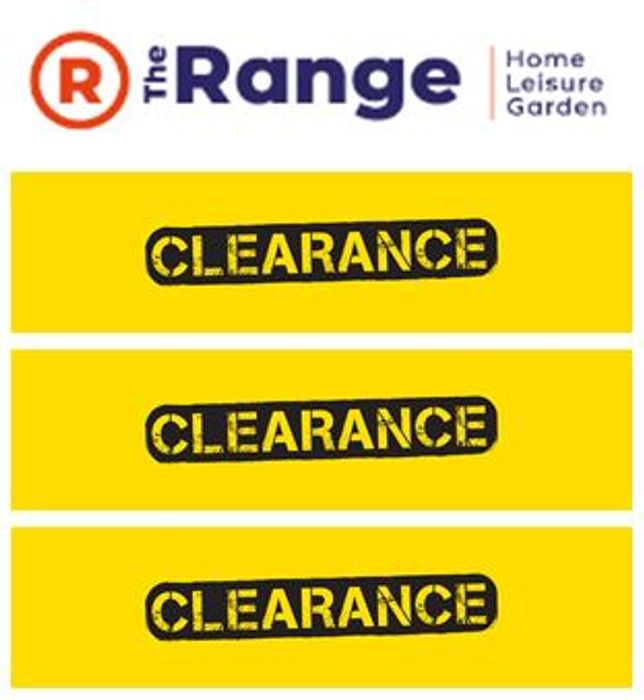 Special Offer - CLEARANCE at The Range - Homewares, Furniture, Kitchen, Garden