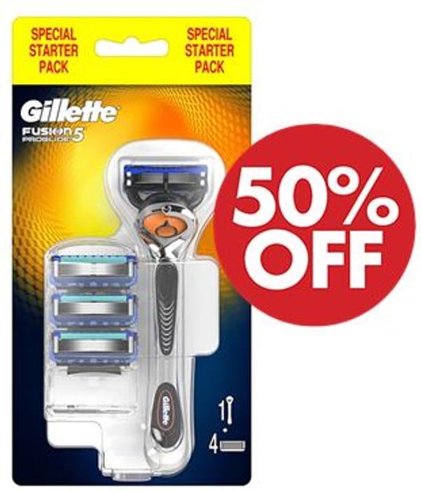 Best Price! Gillette Fusion5 ProGlide Razor for Men with 4 Blades