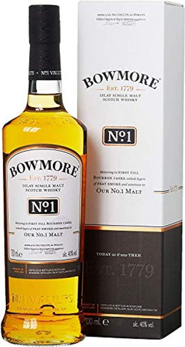 Cheap Bowmore No.1 Single Malt Scotch Whisky, 70 Cl on Sale From £32 to £20.7