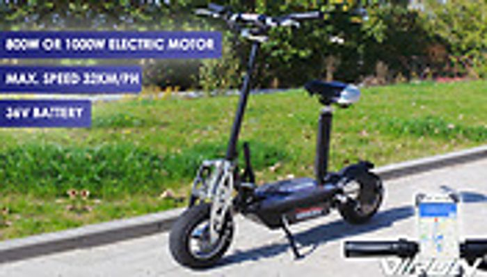 800W £299 or 1000W £349.99, Electric Scooter - 4 Colours