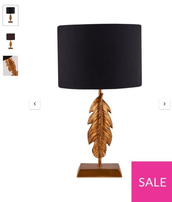 Faith Table Lamp - Only £29.99!