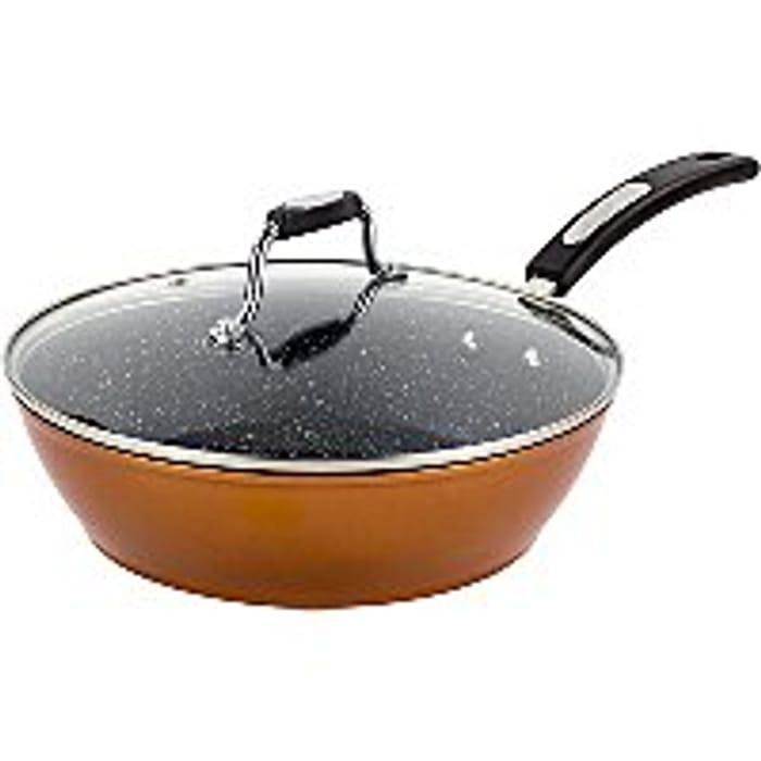 Scoville Copper Saute Pan 26cm - Save £8