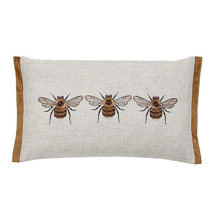 Bees Rectangular Cushion - Only £9.6!