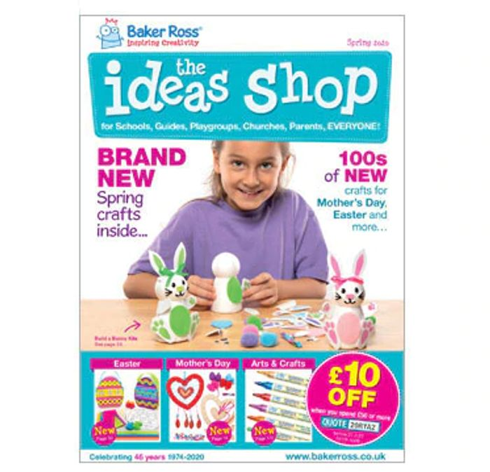 Free Baker Ross Spring Catalogue