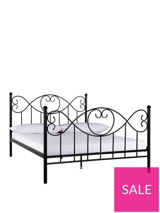 Juliette Metal Single Bed Frame - 60% Off!