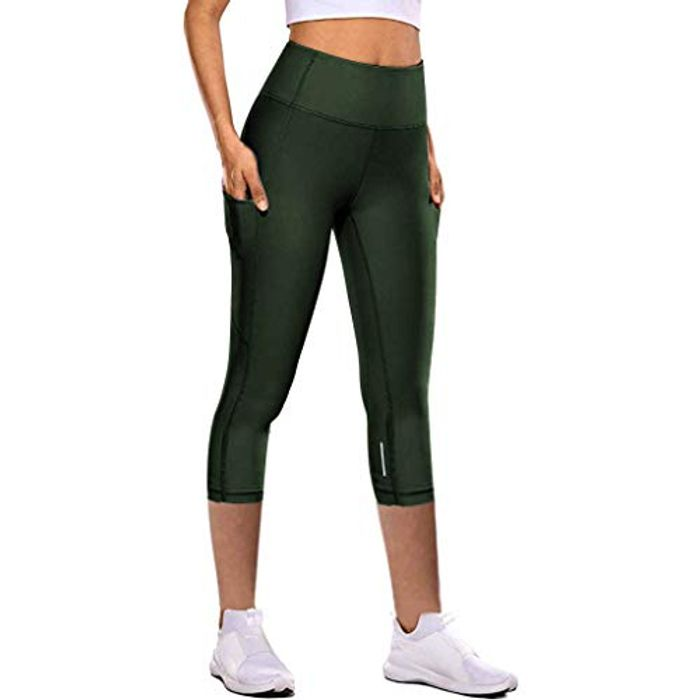 Cheap Womens Yoga Leggings at Amazon, Only £5.8!