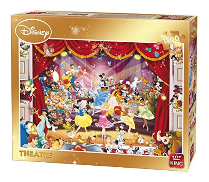 Cheap King 5262 Disney Theatre Jigsaw Puzzle 1500-Piece Only £9.99