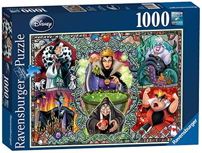 Ravensburger Disney Wicked Women, 1000pc Jigsaw Puzzle - FREE PRIME DELIVERY