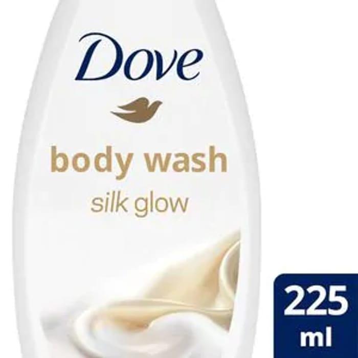 Cheap Dove Silk Body Wash 225ml - Save £1.65!