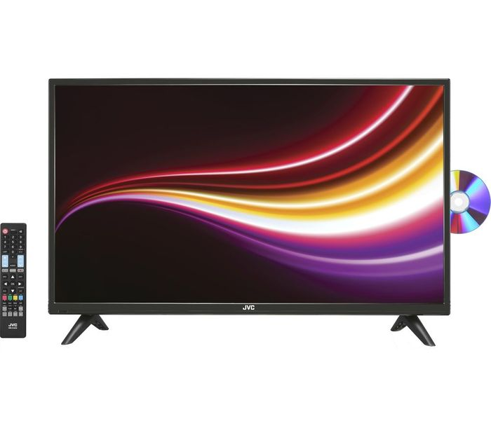 """Best Price! JVC 32"""" LED TV with Freeview & Built-in DVD Player"""
