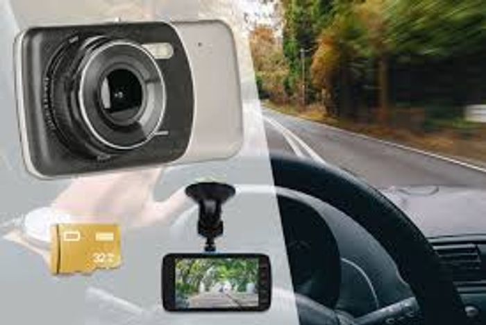 Cheap Next Gen HD Front & Rear Car Dash Cam - 32GB Option, Only £19.99!