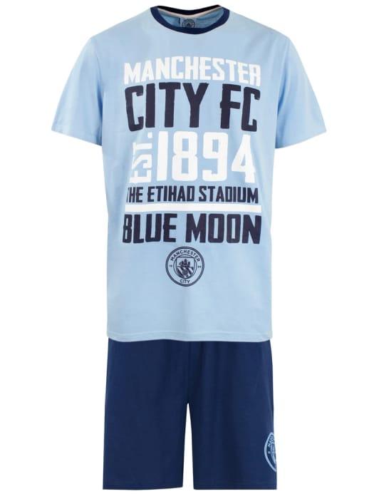 Cheap Mens Manchester City Pyjama Set, Only £8.95!
