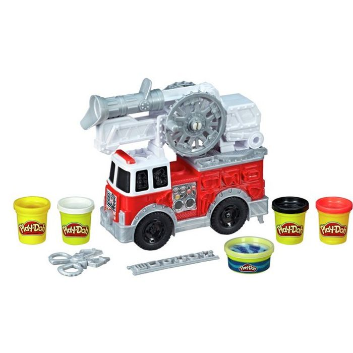 Coming Through! 1/2 Price Play-Doh Firetruck
