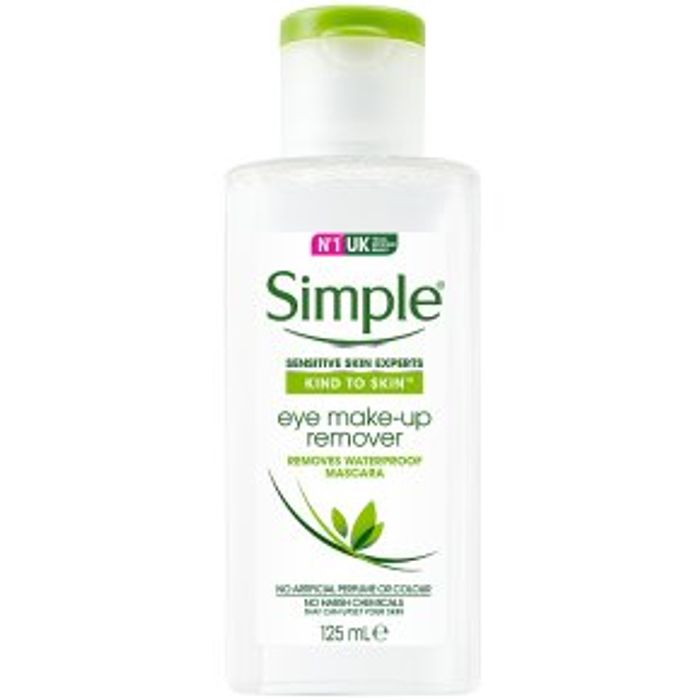 Simple Kind to Eyes Eye Make-up Remover125ml