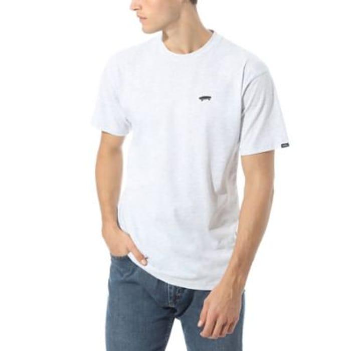 Vans White T-Shirt - Sizes XS - XL - Now Half Price!