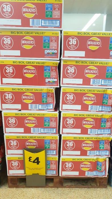 Big Box of Walkers Crisps £4.00
