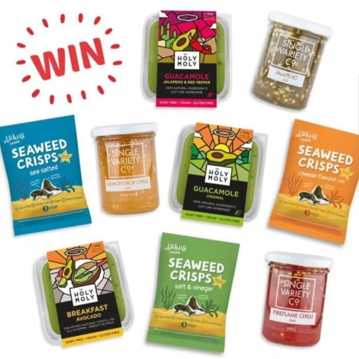 Win a Bundle of Vegan Crisps & Dips!