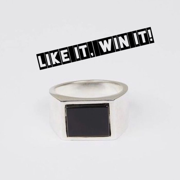 Win an Onyx Silver Target Ring!