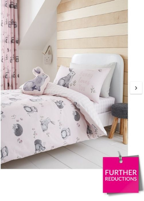 Best Price! Catherine Lansfield Woodland Friends Easy Care Duvet Cover Set