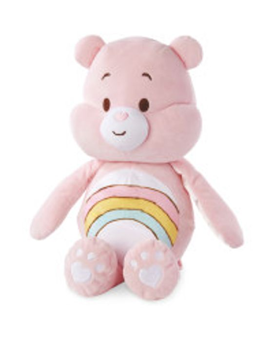 Cheap Cheer Care Bear Soft Toy at Aldi - Only £6.99!